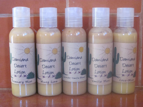 Damiana Desert Lotions 2oz