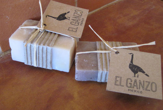 El Ganzo soaps and labels